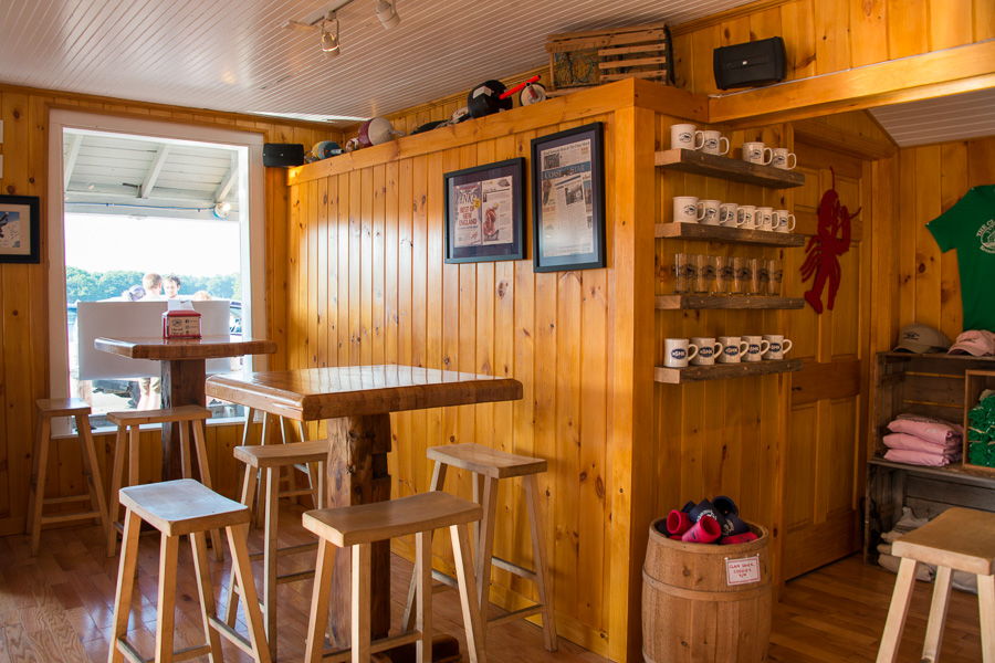 Inside The Clam Shack