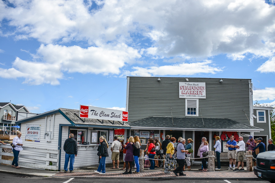 The Clam Shack is a popular spot