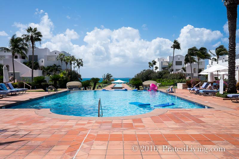 The pool at CuisinArt