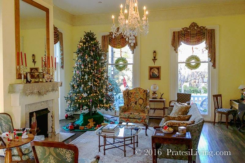Living room at The Verandas