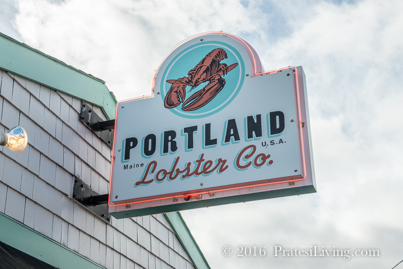 Portland Lobster Company in Maine