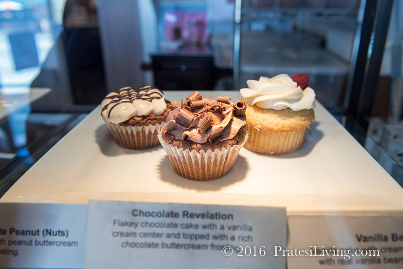 The Peppered Cupcake – Just a few of their many flavors