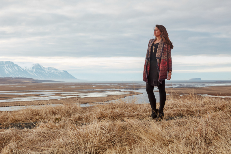 Meredith in Iceland