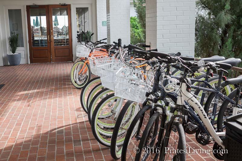 Bikes at the Inn