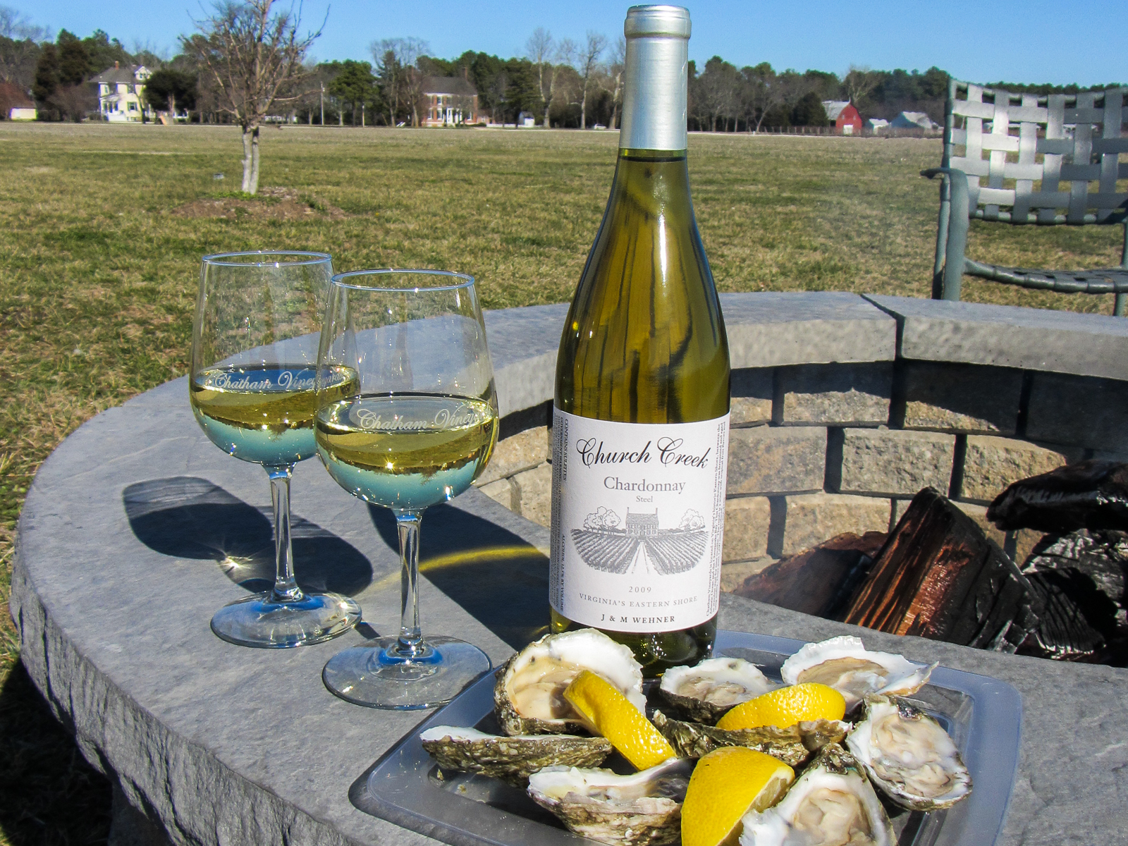 Merroir & Terroir (Photo credit - Chatham Vineyards)