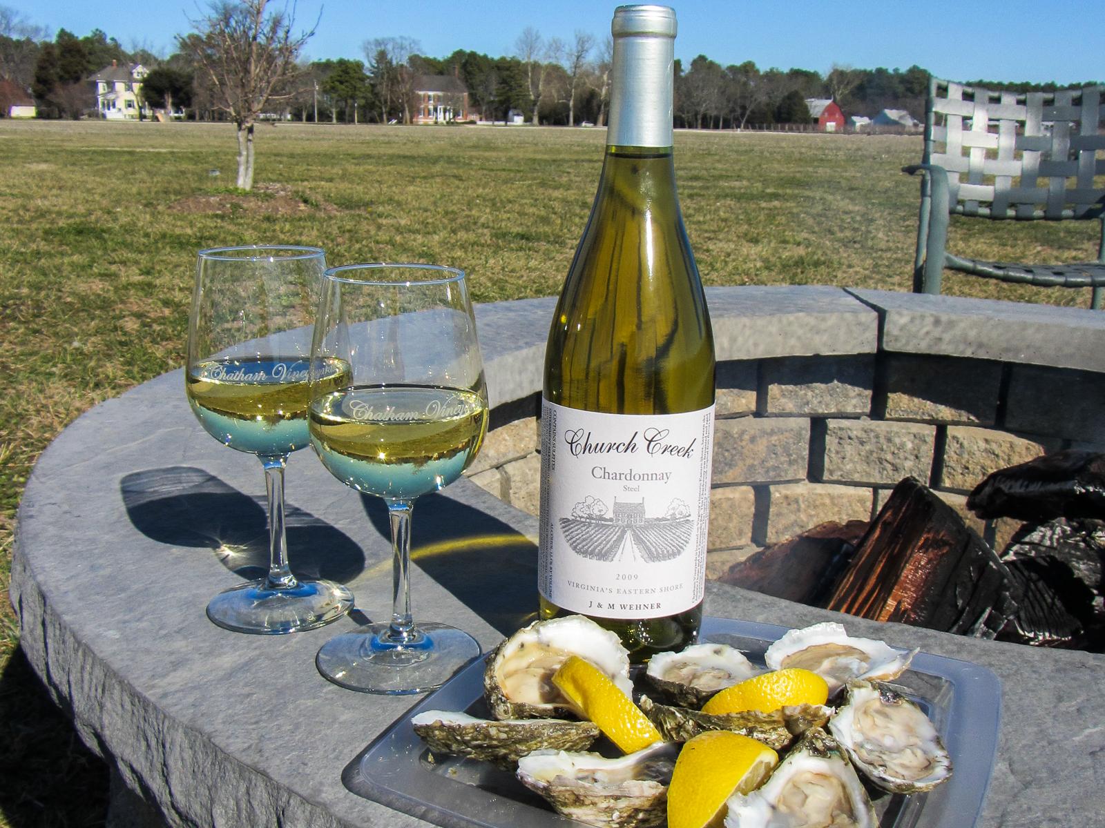 Merroir & Terroir (Photo credit - Chatham Vineyards)
