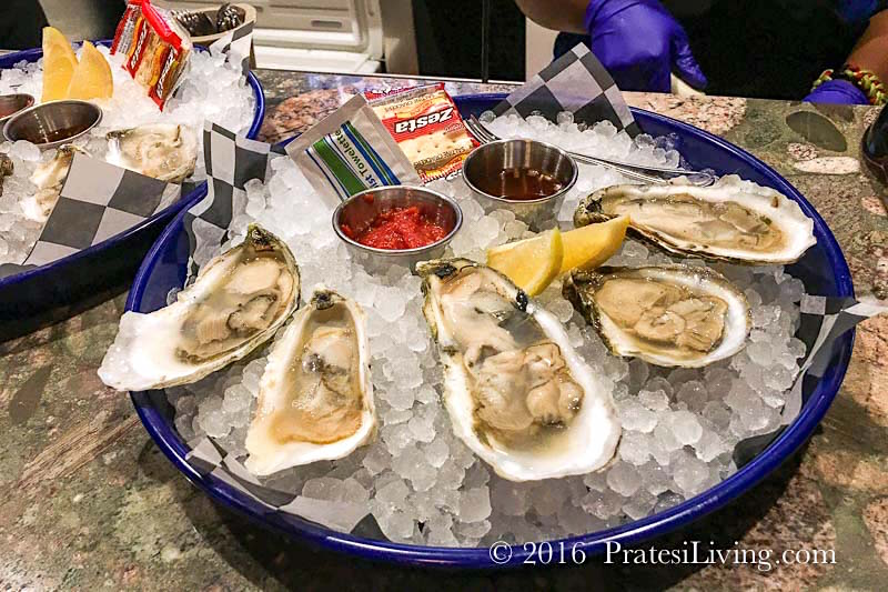 Local Virginia oysters