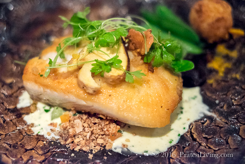 Pan Seared Wild Sea Bass