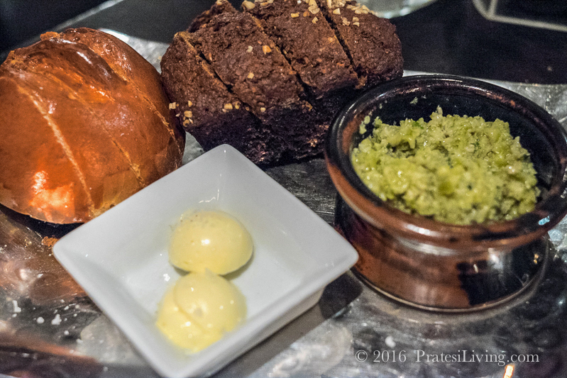 One of our favorites - Traditional Brown Bread and Irish butter