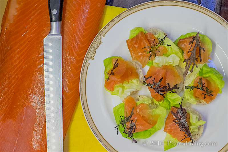 Sheen Falls' smoked salmon
