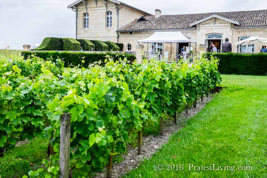 Private event at Chateaux Kirwan in Medoc, France