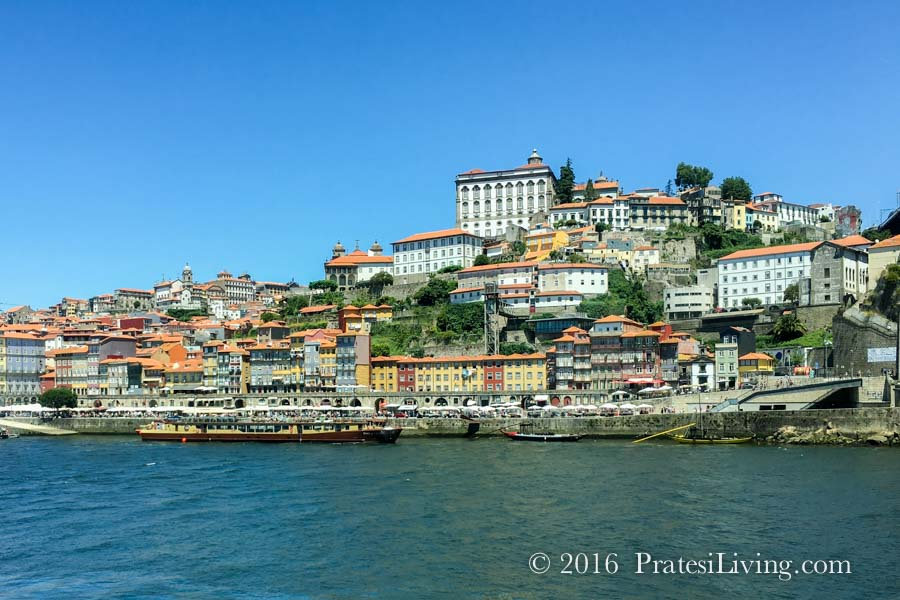 View of Porto and the Drouro River