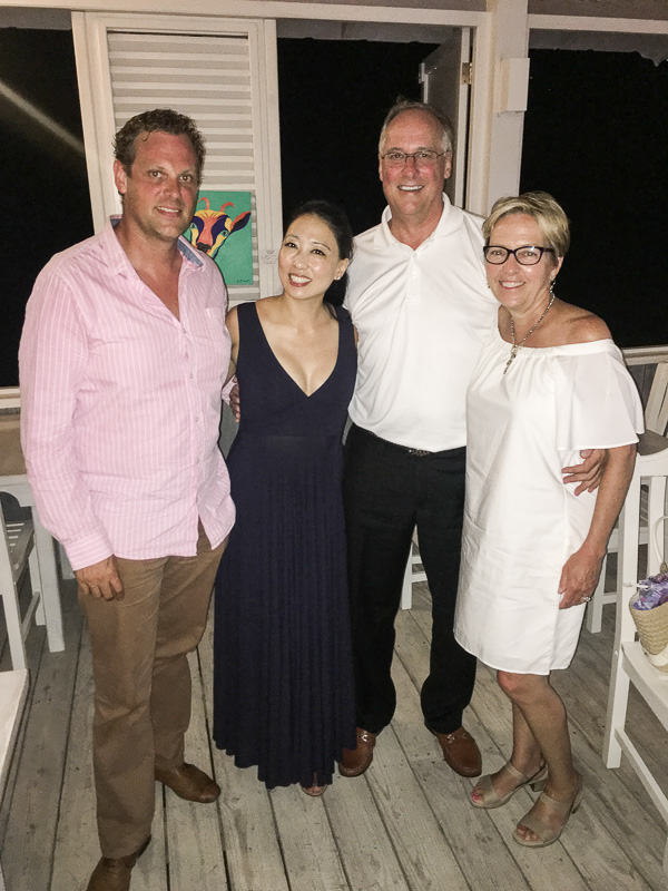 With Andrew and Judy in Nevis (Photo credit- Emma Hales)