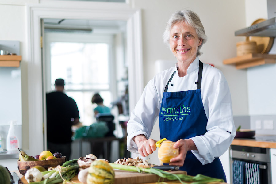 Rachel Demuth (Photo credit - Demuths Cookery School)