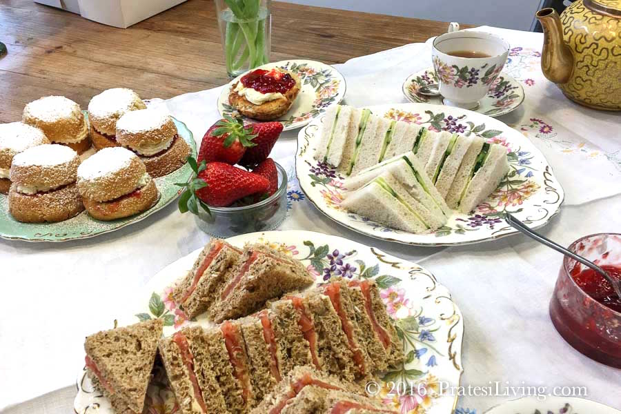Afternoon Tea fit for the Queen of England!