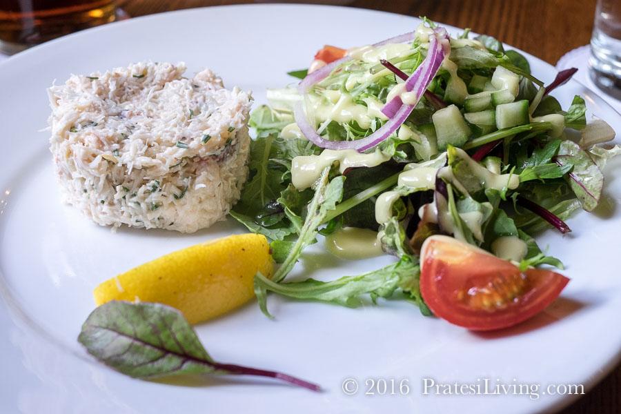 Connemara crab salad
