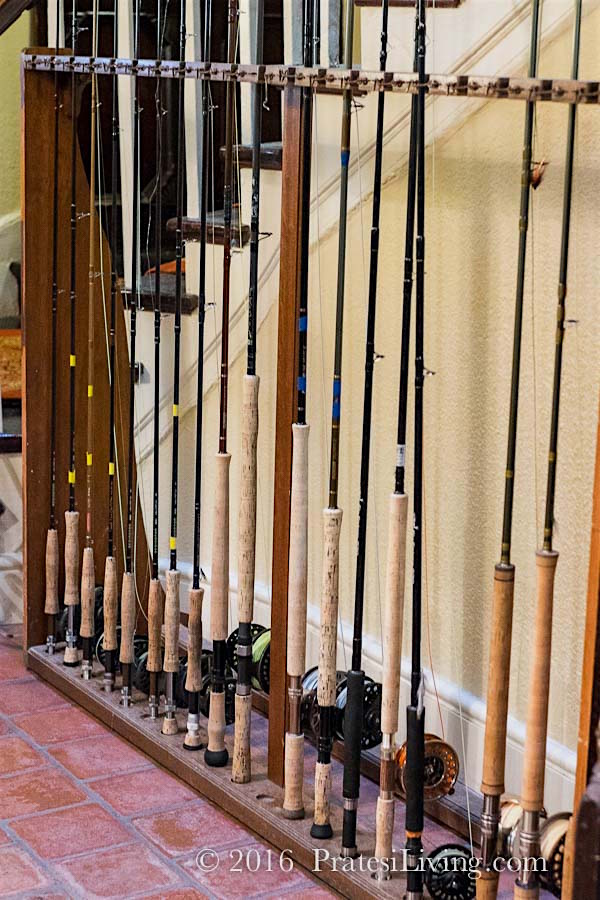Fly-fishing rods