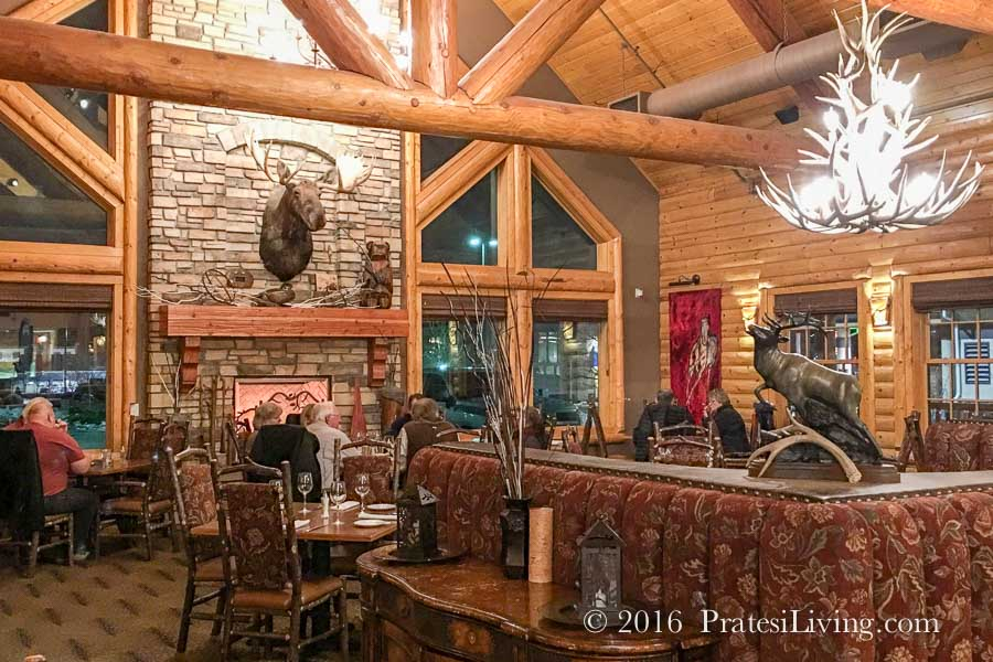 Blue Canyon dining room