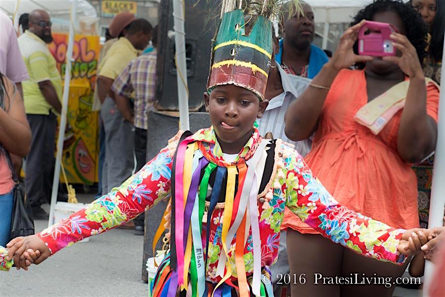 Dancer at the Mango Madness Street Fair