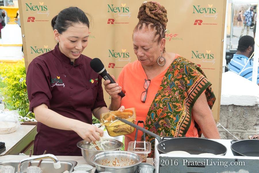Iron Chef Judy Joo
