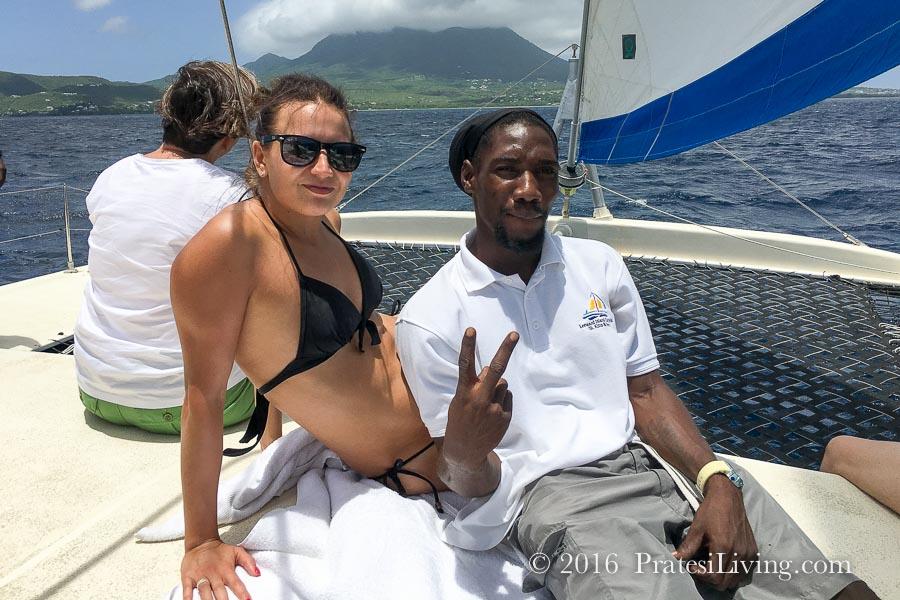 New friends in Nevis