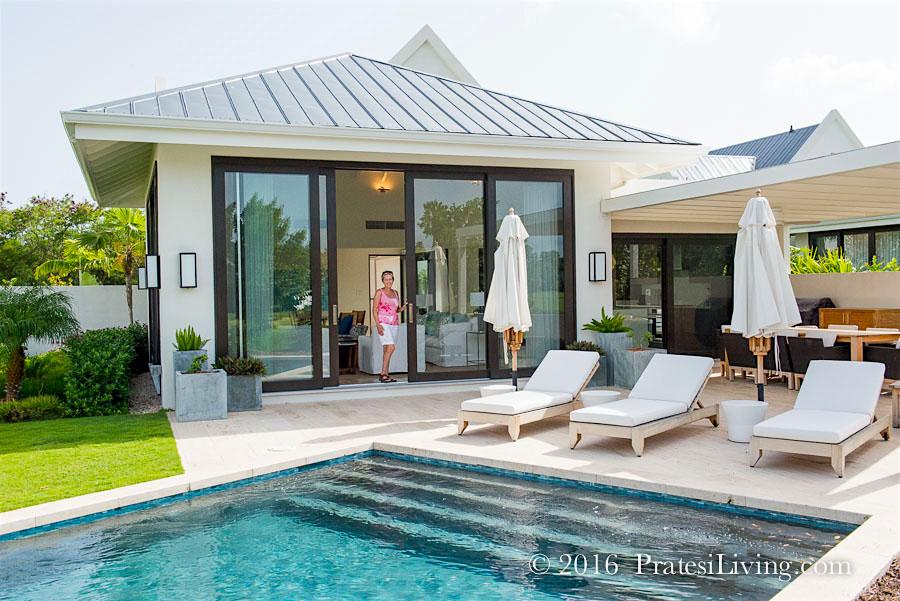 Villa on the property