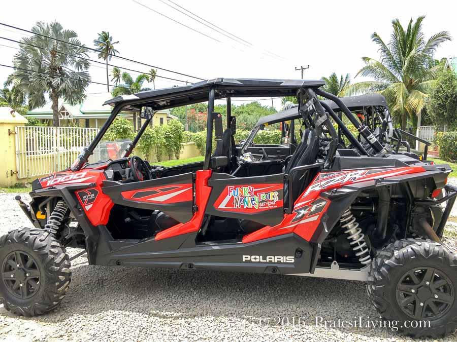 Funky Monkey 4 x 4 ATV