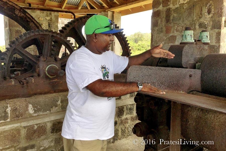 Neal at New River Plantation