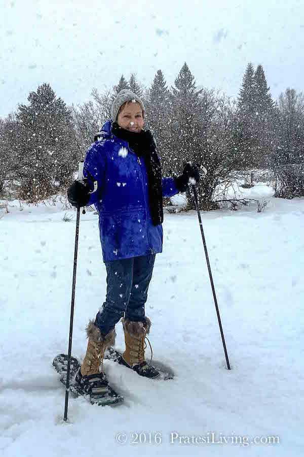 Snowshoeing in Bigfork