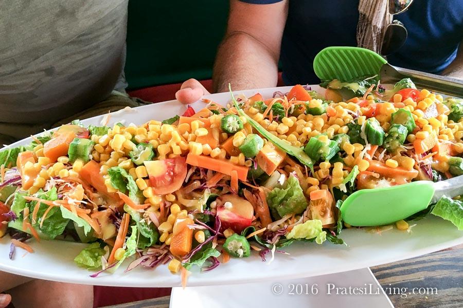 Salad at Sunshine's