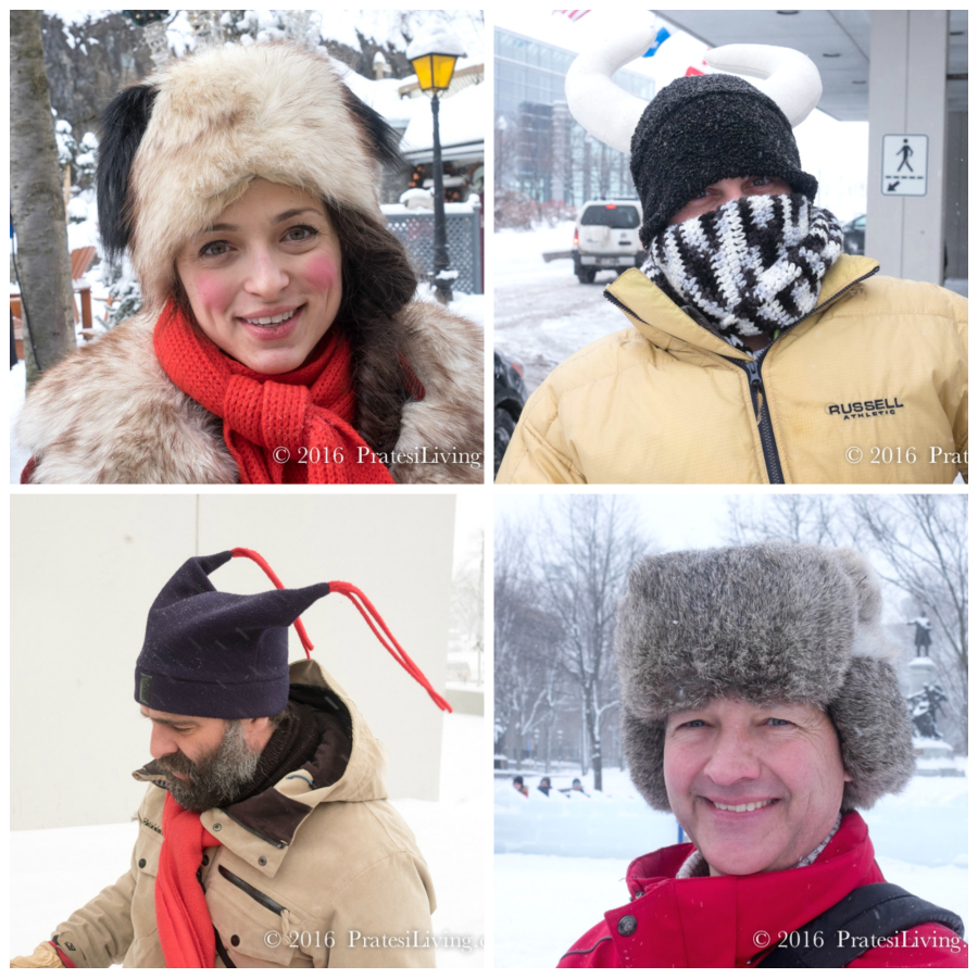 The hats of Québec