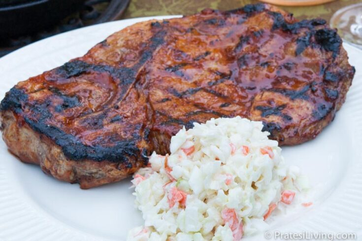 Chef Carl Shelton's Dad's St. Louis-Style BBQ Pork Steak