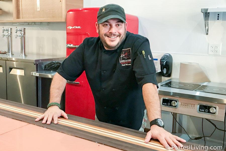 Chef Rob Masone at Kounter - Rock Hill, SC