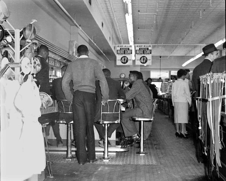McCrory's lunch counter