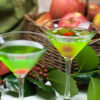 Green Appletinis for a Holiday Blogiversary Celebration!